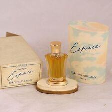 Vintage Cheramy Espace 1/4 oz perfume bottle