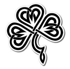 Shamrock Celtic Vinyl Sticker - SELECT SIZE