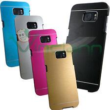 Custodia cover rigida effetto METALLO BRUSHED per Samsung Galaxy S7 Edge G935F