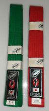 Cintura colorata EFFEA Sport 100% cotone Arti marziali Karate Judo