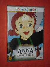 DVD DI ANIMAZIONE-DA COLLEZIONE-ANNA DAI CAPELLI ROSSI -n°1- NUOVO SIGILLATO