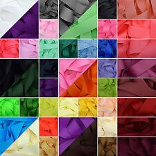 """Cinta del grosgrain 1 3 o 5 Metros De Corte De 25mm (1 """") en 64 llano sólido Colores"""