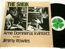 ARNE DOMNERUS & JIMMY ROWLES The Sheik Rune Carlsson LP