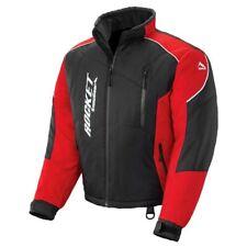 Rocket Storm XC Mens Snowmobile Jacket Black/Red