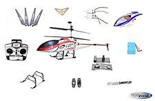 Alle Ersatzteile RC Hubschrauber Helikopter qs8008 G.T.Model