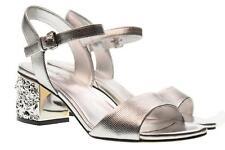 Calzado de mujer de piel color principal plata talla talla talla 38     139c9f