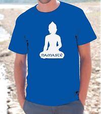 "T-SHIRT MAGLIETTA S - M - L - XL "" NAMASTE' "" Uomo Donna unisex india buddha ohm"