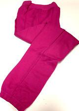 Nouveau Pour Enfants Coton Unisexe Pyjama Gym Course Vêtements De Sport Rose