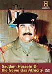 Man, Moment, Machine: Saddam Hussein and the Nerve Gas Atrocity (DVD, 2010) NEW!