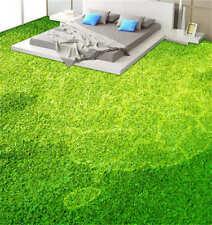 Green sward 3D Floor Mural Photo Flooring Wallpaper Home Print Decoration Kids