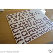 SWIFT Corniche - (STYLE 2) - Caravan Stickers Decals Graphics - SET OF