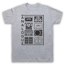Grabación analógica de equipos de Audio Música Retro Fresco Para Hombre Mujer Niños Camiseta