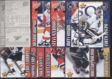 1999-00 2003-04 KRAFT DINNER ALL STARS STANLEY CUP MOMENTS NHL HOCKEY SEE LIST