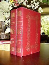 LES MISERABLES IN A 2 VOLUME SET Easton Press VICTOR HUGO RARE FINE