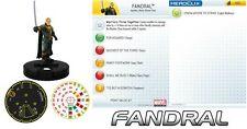 FANDRAL #025 Avengers Movie Marvel Heroclix rare