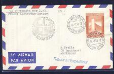 41024) Niederlande KLM FF Amsterdam - Moskau 21.7.58 ab Vatikan RR!