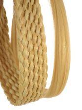 Rattan Effect Headband Pack | x2 Hairband Accessory | Soft Realistic Fibre