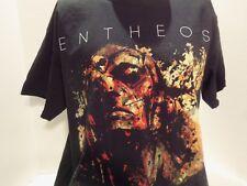 ENTHEOS DISTORTED FACE TOUR SHIRT -  TECHNICAL DEATH METAL-PROGRESSIVE- RARE