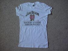 JIM BEAM DISTRESSED LOGO SKINNY T SHIRT NEW OFFICIAL KENTUCKY BOURBON WHISKEY