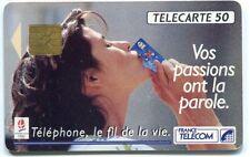 TELECARTE 50  FRANCE TELECOM LE FIL DE LA VIE