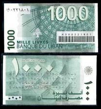 BILLET ORIGINAL avec CODE BARRE 2008 Liban Lebanon NEUF