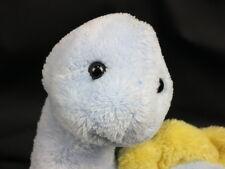 CARTER'S PRESTIGE BABY BOY BLUE INFANT CAN RATTLE DINOSAUR PLUSH STUFFED ANIMAL