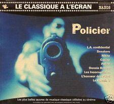 CD COMPIL BOF--LE CLASSIQUE A L'ECRAN--LES POLICIERS