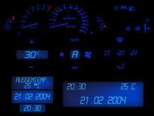 Blauer Tacho LED Komplettset Armaturenbeleuchtung Opel Vectra B Omega B P&P