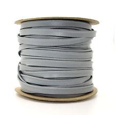 10mm Grey Skai Edging Trimming Piping Ribbon Trim Lame Sewing Crafts 1m L310