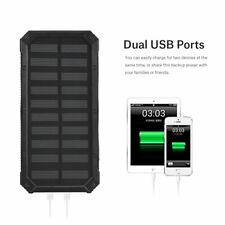 20000mAh Dual USB Portable Solar Battery Charger Box Power Bank Case DIY Kit New