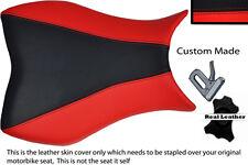 Black&red personalizado se adapta a Honda Cbr 1000 Rr 08-11 Fireblade Cuero Funda De Asiento