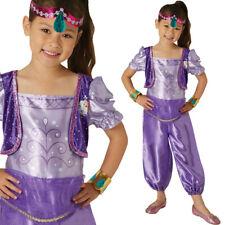 Kids Shimmer Costume Licensed Girls Fancy Dress Shine 3-6 Years Toddler Rubies