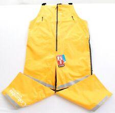 Columbia PFG Force 12 Waterproof Yellow Outdry Fishing Bibs Pants Men's NWT