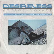 "Desireless - Voyage Voyage 7"" Single 1986"