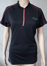 Dare 2b DWT148 Women's Revel Short Sleeve Cycling Jersey Black 8-18 B.N.I.B