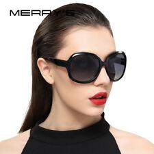 MERRY'S Designer Large Round Square Wrap Retro Style Polarized Women Sunglasses
