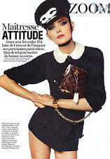 PUBLICITE advertising  2011   le sac Louis Vuitton