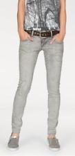 LTB Röhren-Jeans Molly, Super Slim Low Rise, Hellgrau, W31,32 L30