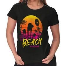 Beach Star Funny Wars Shirt Rogue One Death Darth Vader Maul Ladies Tee Shirt T