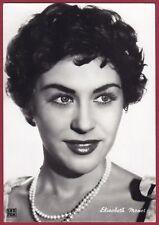ELISABETH MANET 01a ATTRICE ACTRESS CINEMA MOVIE FRANCE Cartolina FOTOGR v. 1957