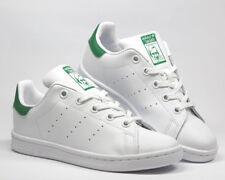 adidas STAN SMITH weiss/grün Sneaker Schuhe Gr. 28-39-30-31-32-33-34-35 Neu