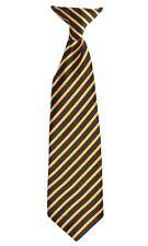 Boys Striped Neck Clip On Tie Stripe Size Boy Toddler 2T-4T Kids 4-7 Boys 8-16