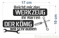 reicht mir das Werkzeug.... Sticker Aufkleber Simson MZ Trabant Wartburg