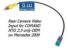 Cavo VIDEO IN ingresso retrocamera MERCEDES NTG2.5 NTG 2.5 HDD SD rear camera