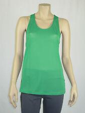 Ladies Urbane Activ Sports Gym Singlet Sleeveless Top sizes 8 10 Colour Green