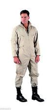 Military Flightsuit AirForce Mechanic Camo Coverall Flight Suit Uniform KHAKI
