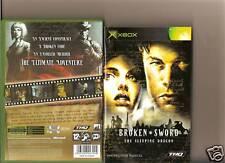 BROKEN SWORD SLEEPING DRAGON XBOX / X BOX
