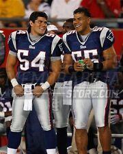 Tedy Bruschi Junior Seau New England Patriots  8x10 11x14 16x20 photo 195