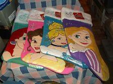 NWT Disney Princess Christmas Stocking Ariel Belle Cinderella Rapunzel You Chose