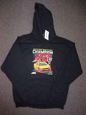 Joey Logano Champion NASCAR Monster Energy #22 Hoodie NEW black NWT Hood Shirt
